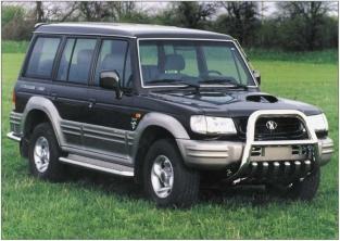 Farol lado Esquerdo p/ Hyundai Galloper Ano 98 e 99