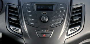 Radio com USB p/ Ford New Fiesta 2014 2015